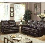 Acme Furniture - Zamora 2 Piece Sofa Set in Brown - 50750-S+L