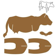 scroll saw patterns templates Cardboard Animals, Cardboard Toys, Paper Toys, Cardboard Playhouse, Cardboard Furniture, Decor Photobooth, Wood Dice, Paper Art, Paper Crafts