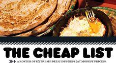 The cheap list - restaurants - NY