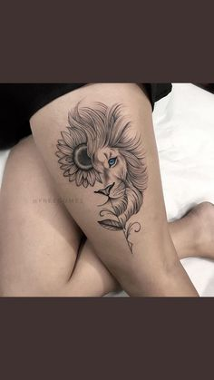 Mommy Tattoos, Leo Tattoos, Dope Tattoos, Body Art Tattoos, Sleeve Tattoos, Hand Tattoos, Small Tattoos, Hip Thigh Tattoos, Leg Tattoos Women