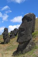 Step 1 Moai Statues craft