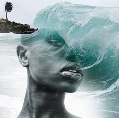 Beautifully Surreal Portrait Series Blended into Landscape Photos by Antonio Mora