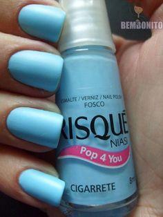 Resultado de imagem para esmalte risque cigarrete