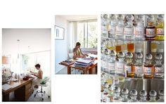 Jean-Claude Ellena   Hole & Corner Magazine Drinking Tea, Book Design, Perfume Bottles, Corner, Magazine, Furniture, Home Decor, Decoration Home, Room Decor
