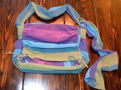 CUSTOM Wrap Conversion Diaper Bag - Woven Wrap Scraps Bag - Babywearing Wrap Bag via Etsy
