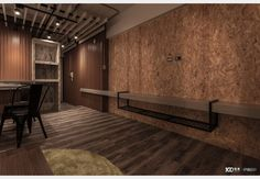 引光工宅_工業風設計個案—100裝潢網 Conference Room, Divider, Table, Furniture, Home Decor, Decoration Home, Room Decor, Tables, Home Furnishings