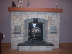 stanley stove with stone fireplace Decor, Stone Fireplace, Stove, Sitting Room, Stone, Stanley Stove, Home Decor, Room, Fireplace