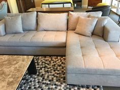 mirak sectional - dania | For the Home | Pinterest | Ottomans House and Spaces : dania sectional - Sectionals, Sofas & Couches