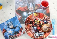 Muffin a tema Avengers