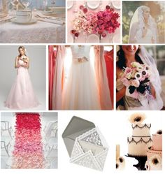 Lace and Ombre Pink via Just Wenderful Events