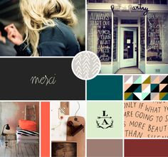 The best of mood boards and collage - Architectural Styles Identity Design, Visual Identity, Graphic Design Inspiration, Color Inspiration, Inspiration Boards, Coffee Illustration, Perm, Mood Boards, Color Combos