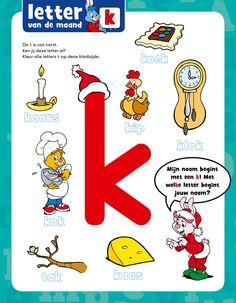 Letter k - Bobo Letter K, Snoopy, Activities, School, Kids, Fictional Characters, Afrikaans, Art, Winter