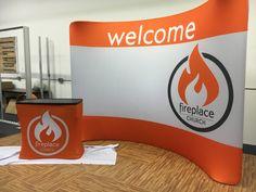 Fireplace Church (Blacksburg, VA) is launching next week and meeting in a school. Need big bold PORTABLE set-ups.