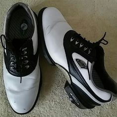 Dry Joys Mens Golf Shoes Size 8.5 M Preowned DryJoys Shoes Athletic Shoes