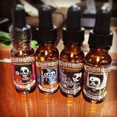 Picture of Vape Juice bottles