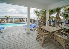 Myrtle Beach State Park is km from the vacation home. The nearest airport is Myrtle Beach International Airport, km from Vacation Station - Six Bedroom Home. Myrtle Beach State Park, International Airport, Private Pool, State Parks, Hotels, Deck, Vacation, Bedroom, Outdoor Decor