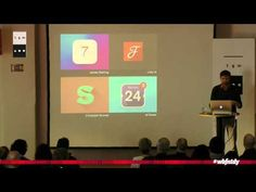 Stephen Coles - (Web)fonts(to)day - YouTube