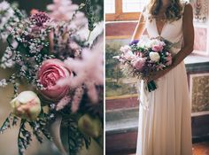 flower bride See more here: http://www.tastino0.it/allison-davide-tuscan-destination-wedding/
