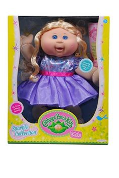 Cabbage Patch Kids Sparkle Blonde Hair Blue Eyes Purple Http