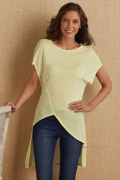 Charla Hi Lo Top from Soft Surroundings