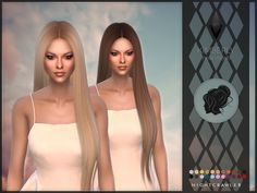 NEW MESHFound in TSR Category 'Sims 4 Female Hairstyles'