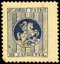 #Segells #SantJordi2016 Balearic Islands, Coins, Personalized Items, Spain, Rooms
