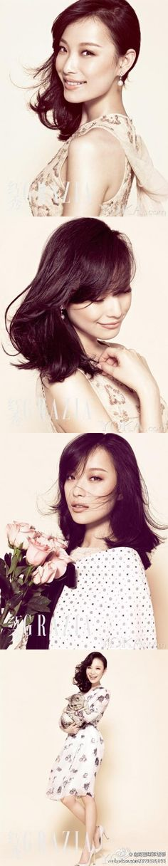 gorgeous chinese actress Ni Ni {flowers of war}