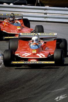 Scheckter-Villeneuve 1979 Monaco