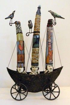 ROBIN & JOHN GUMAELIUS, ceramic sculpture