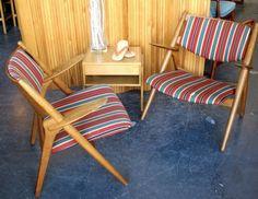 Pair Hans Wegner Sawback Chairs | 20th Century Scandinavia