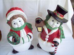 Shop my sale: 25% off. http://etsy.me/2jI9S4S #etsy #thebutterfliesgarden #etsyfinds #etsygifts #etsysale #etsycoupon #shopsmall #Christmas #snowmen #Homedecor