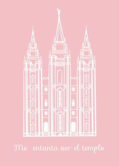 Ideas Lamanitas: El templo en rosa ♥