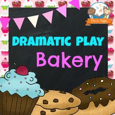 Dramatic Play Bakery Printable Kit