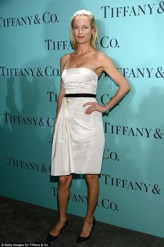 Carolyn Murphy - Tiffany party