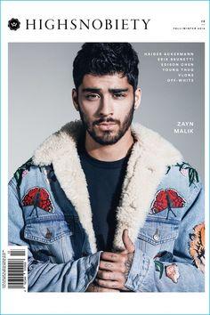 Zayn Malik covers the fall-winter 2016 issue of Highsnobiety.