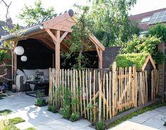 Outside Living, Outdoor Living, Welcome To My House, Wooden Pergola, My Secret Garden, Farm Gardens, Home And Garden, Kid Garden, Garden Styles