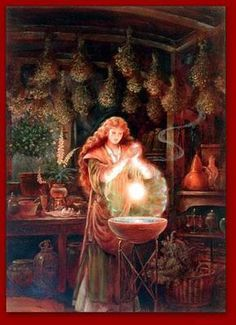The full moon is the strongest time to decant your herbal tinctures. That is a fancy word for strain Herbal Tinctures, Herbalism, Herbal Tea, Art Magique, Witch Photos, Hedge Witch, Witch Art, Kitchen Witch, Book Of Shadows