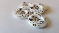 5 Boutons de bois 30mm pour bonnets boutons pour tuques bouton pour foulard artisanat bouton pour projets DIY couture gros boutons by LesCreationsManon on Etsy