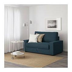IKEA - VILASUND, Dvosjed na razvlačenje, Orrsta svijetlosiva, , Džepičaste se opruge prilagođavaju vašem tijelu i održavaju vašu kralježnicu ravnom dok spavate.MARIEBY tvrdi madrac pruža dobar oslonac i može se koristiti godinama.U prostor za odlaganje ispod sjedišta možete odložiti, primjerice, posteljinu.Navlaku je lako održavati jer se može skinuti i prati u perilici.Izdržljiva navlaka od poliesterskog i pamučnog vlakna ima posebnu teksturu i ugodna je na dodir.