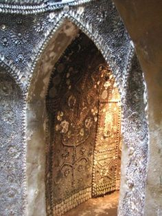 Amazing ancient shell grotto in Margate England