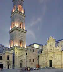 Lecce, in the Puglia region of southern Italy, is sometimes called the Florence of the South