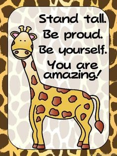 "FREEBIE - Zoo Animals Positive Quote Posters {Jungle Safari Theme}Inspire your students with these posters.There are 4 in this set.Check my store to complete your classroom zoo themed look and for other great items!Please click ""Follow Me"" to be able to receive updates on new great products and freebies!"