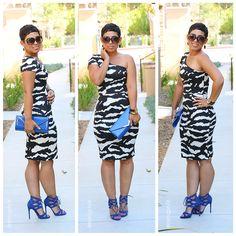 #DIY One Shoulder Dress #MimiGStyle