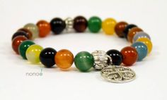 Sunshine reggae color jade bracelet.
