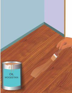 Painted Knotty Pine Walls Pergo Flooring Basement