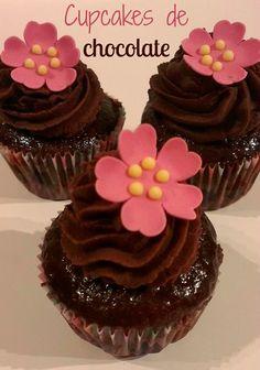 Sivila Happy Bakery : ♥ Cupcakes de chocolate!! Nº 5 del reto!!