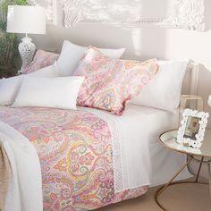 King Bedding Sets For Sale Referral: 5671014564 Linen Bedroom, Bedroom Bed, Linen Bedding, Bed Linens, Bedding Decor, Bedroom Ideas, Master Bedroom, Bedrooms, Paisley Bedroom