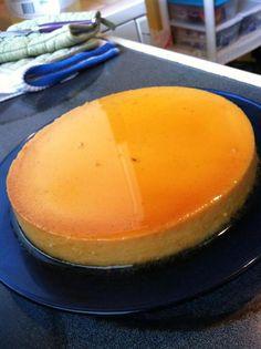 Vanilla Bean Cream Cheese Flan