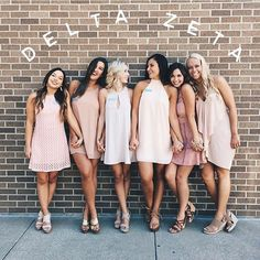 """Bridesmaids idea pic. Have the bride in the middle and words above like """"lady's run the world"""". Or somethin"""