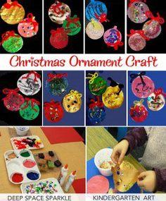 Kinder Christmas Ornament Craft